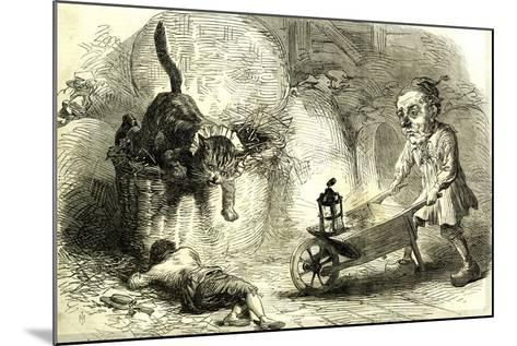 Drury Lane Theatre Grimalkin Thegreat Puss in Boots and the Miller's Son 1869 London Great Britain--Mounted Giclee Print