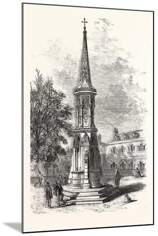 Banbury Cross, Memorial Cross Erected in Honour of the Marriage of the Princess Royal. Uk--Mounted Giclee Print