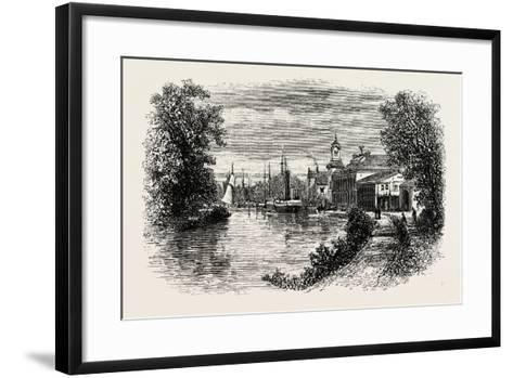 Motala, Is a Locality and the Seat of Motala Municipality, Östergötland County, Sweden--Framed Art Print