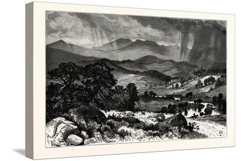 Mount Mansfield, from Rice's Hill. Mount Mansfield Is the Highest Mountain in Vermont, Usa--Stretched Canvas Print