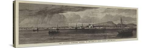 The Abyssinian Expedition, Berbereh, on the Coast of Africa, Opposite Aden--Stretched Canvas Print
