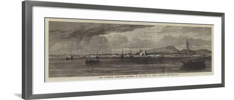 The Abyssinian Expedition, Berbereh, on the Coast of Africa, Opposite Aden--Framed Art Print