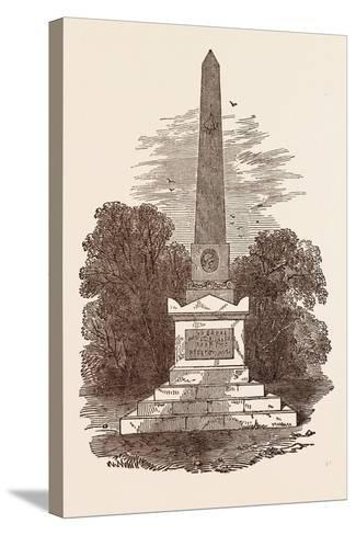 Monument to John Howard, the Philanthropist, at Kherson; Died January 20, 1790--Stretched Canvas Print