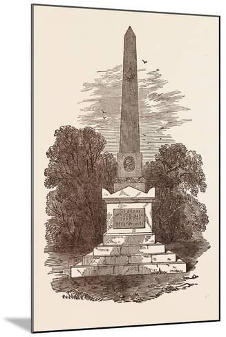 Monument to John Howard, the Philanthropist, at Kherson; Died January 20, 1790--Mounted Giclee Print
