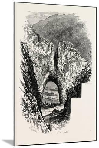 Reynard's Cave, Dove Dale, the Dales of Derbyshire, Country, UK, 19th Century--Mounted Giclee Print