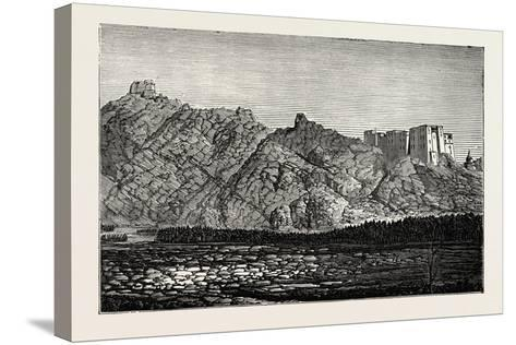 The Mission to Yarkund and Kashgar: Palace and Convent of Lamas, Near Leh--Stretched Canvas Print