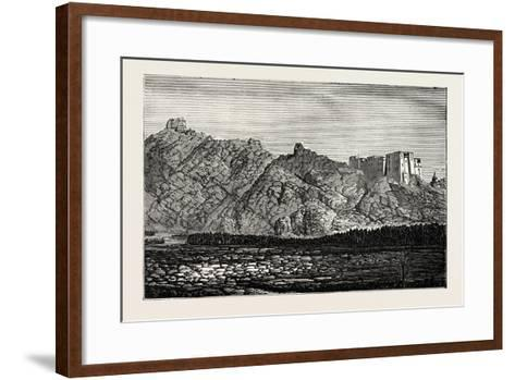 The Mission to Yarkund and Kashgar: Palace and Convent of Lamas, Near Leh--Framed Art Print