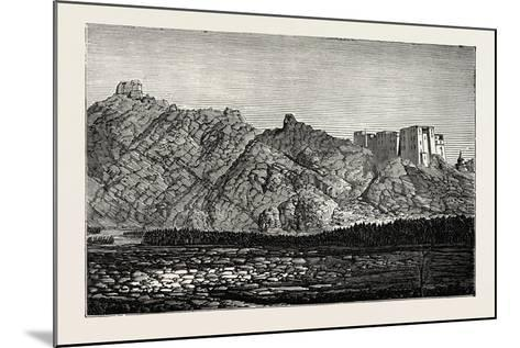 The Mission to Yarkund and Kashgar: Palace and Convent of Lamas, Near Leh--Mounted Giclee Print