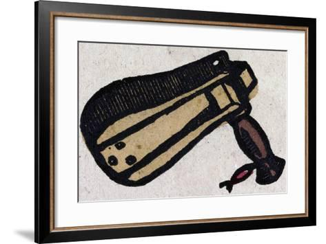 Illustration of English Tales Folk Tales and Ballads. a Musical Instrument--Framed Art Print