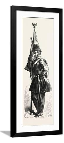 Uniform of the Polish Cavalry in the Service of the Sultan. 1855--Framed Art Print