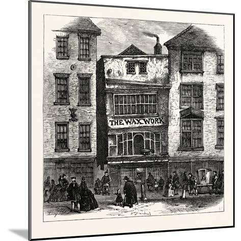 Mrs. Salmon's Waxwork Fleet Street: Palace of Henry Viii. and Cardinal Wolsey London--Mounted Giclee Print