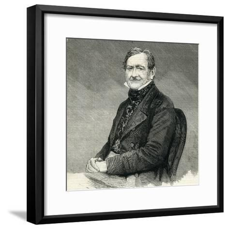 William Mulready (1786- 1863) from the 'Illustrated London News' 25th July, 1883--Framed Art Print