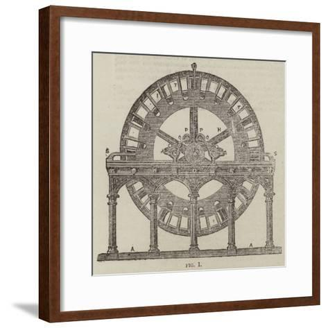 The Magneto-Electric Light at the South Foreland Lighthouse, Near Dover--Framed Art Print