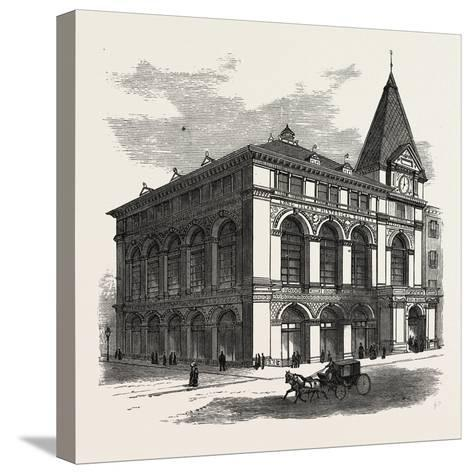 New Building of the Long Island Historical Society at Brooklyn to Be Opened January 4Th--Stretched Canvas Print
