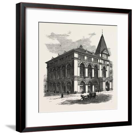 New Building of the Long Island Historical Society at Brooklyn to Be Opened January 4Th--Framed Art Print