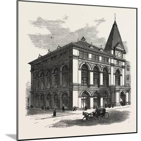 New Building of the Long Island Historical Society at Brooklyn to Be Opened January 4Th--Mounted Giclee Print