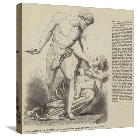 The Massacre of the Innocents (Royal Academy Gold Medal, Sculpture), by Mr Henry Wiles--Stretched Canvas Print