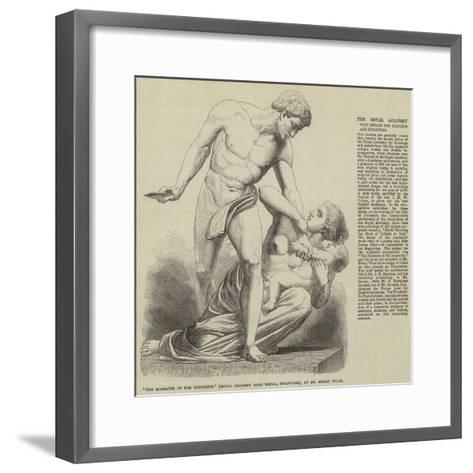 The Massacre of the Innocents (Royal Academy Gold Medal, Sculpture), by Mr Henry Wiles--Framed Art Print
