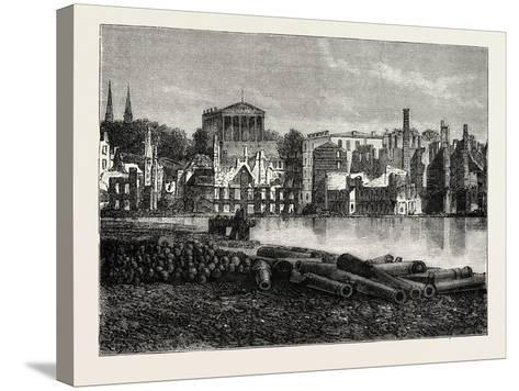 Ruins of Richmond after the War, American Civil War, USA, 1870S--Stretched Canvas Print