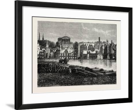 Ruins of Richmond after the War, American Civil War, USA, 1870S--Framed Art Print