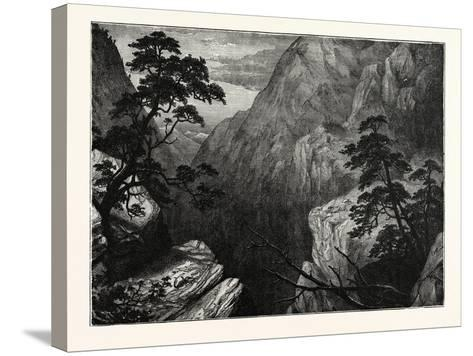 Snowy Range of the Sierra Madre, Rocky Mountains, United States of America--Stretched Canvas Print