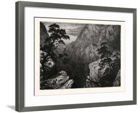 Snowy Range of the Sierra Madre, Rocky Mountains, United States of America--Framed Art Print