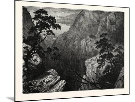 Snowy Range of the Sierra Madre, Rocky Mountains, United States of America--Mounted Giclee Print