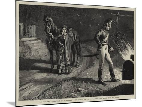 The Romantic Adventures of a Milkmaid, Jim Stopped at the Kiln, While Mrs Peach Held the Horse--Mounted Giclee Print