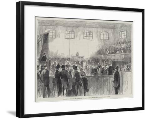 The State of Ireland, the Lord Mayor of Dublin Brought before the Divisional Police Magistrate--Framed Art Print
