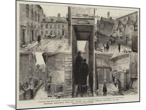 Birmingham Improvements under the Artisan's and Labourers' Dwellings Improvement Act, 1875--Mounted Giclee Print