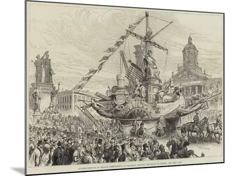 Jubilee Festival of Belgian Independence at Brussels, Historic Procession of Guilds--Mounted Giclee Print