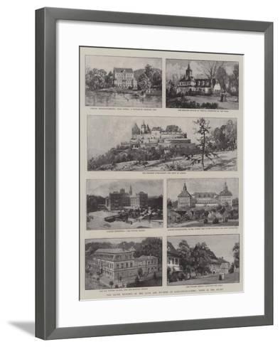 The Silver Wedding of the Duke of Duchess of Saxe-Coburg-Gotha, Views in the Duchy--Framed Art Print