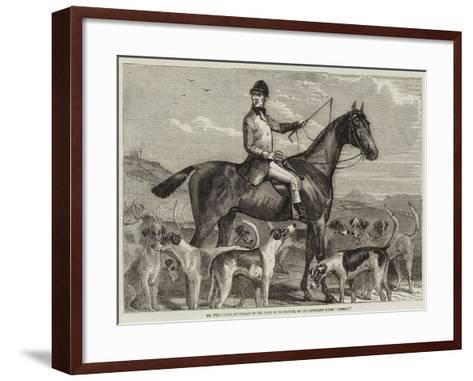 Mr Williamson, Huntsman to the Duke of Buccleuch, on His Favourite Horse Norman--Framed Art Print