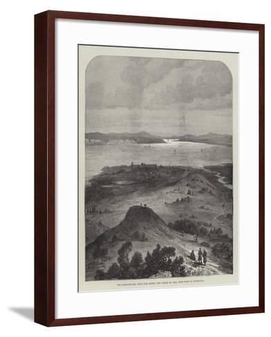 The Dardanelles, from Kum Kaleh, the Castle of Asia, with Tomb of Patroclus--Framed Art Print