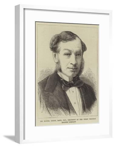Sir Daniel Gooch, Baronet, Mp, Chairman of the Great Western Railway Company--Framed Art Print