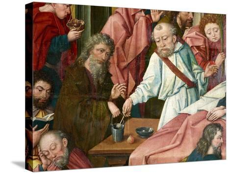 Apostles, Detail from 'Death of the Virgin', C.1520 (Detail of 1630142)--Stretched Canvas Print