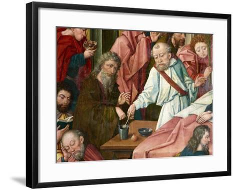 Apostles, Detail from 'Death of the Virgin', C.1520 (Detail of 1630142)--Framed Art Print