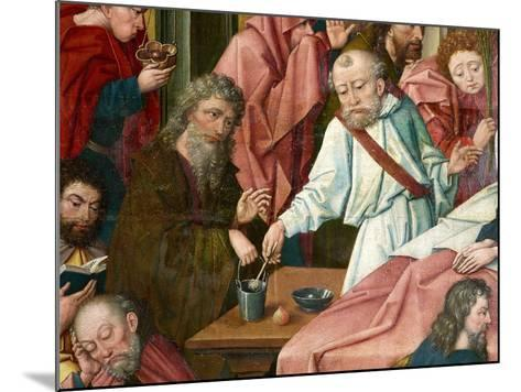 Apostles, Detail from 'Death of the Virgin', C.1520 (Detail of 1630142)--Mounted Giclee Print