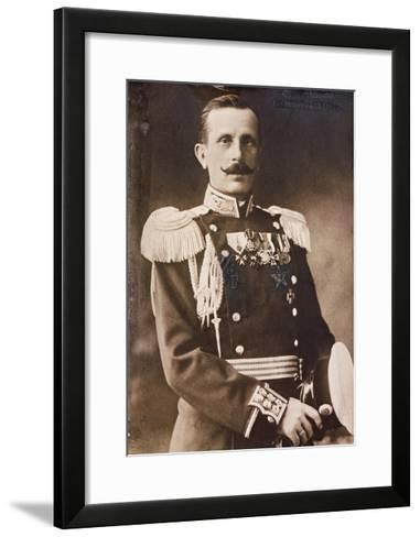 Nikola Zekov (1864-1949), Bulgarian Chief of the General Staff During the Second Balkan War in 1913--Framed Art Print