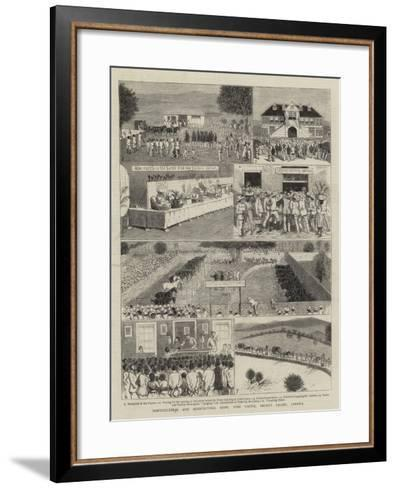 Horticultural and Agricultural Show, York Castle, Pedro's Valley, Jamaica--Framed Art Print