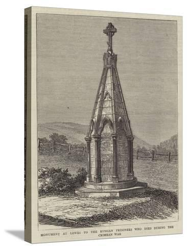 Monument at Lewes to the Russian Prisoners Who Died During the Crimean War--Stretched Canvas Print