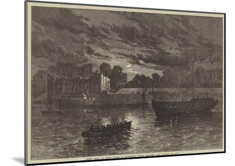 Night Guard at Upnor Castle, a Government Powder Magazine, Near Chatham--Mounted Giclee Print