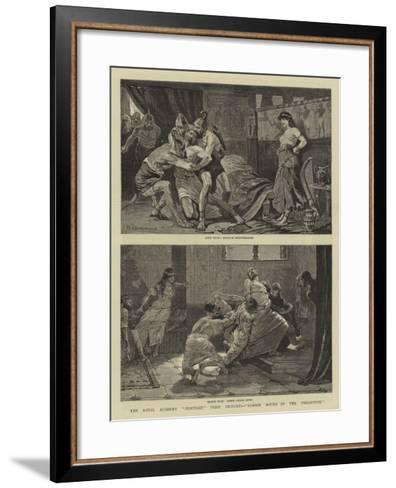 The Royal Academy Armitage Prize Pictures, Samson Bound by the Philistines--Framed Art Print