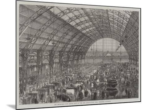 The Smithfield Club Cattle Show at the New Agricultural Hall, Islington--Mounted Giclee Print