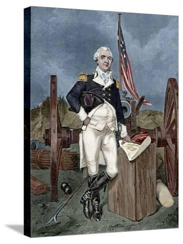 Henry Know (1750-1806). Military Officer of the Continental Army and Later the United States Army. --Stretched Canvas Print