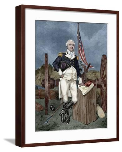 Henry Know (1750-1806). Military Officer of the Continental Army and Later the United States Army. --Framed Art Print
