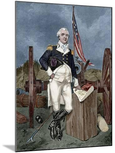 Henry Know (1750-1806). Military Officer of the Continental Army and Later the United States Army. --Mounted Giclee Print