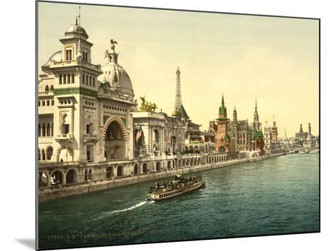 The Pavilions of the Nations, Ii, Exposition Universal, Paris, France, C.1890-1900--Mounted Giclee Print