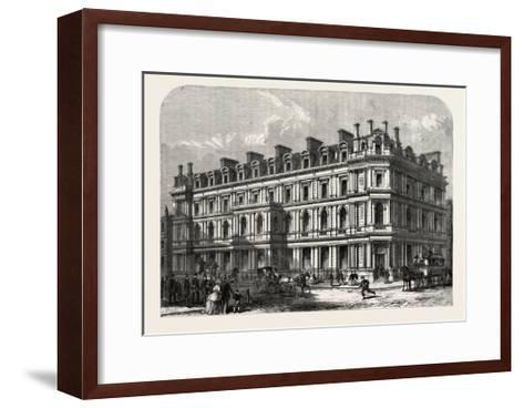 The New Union Bank Buildings, Carey Street and Chancery Lane, London, UK, 1865--Framed Art Print