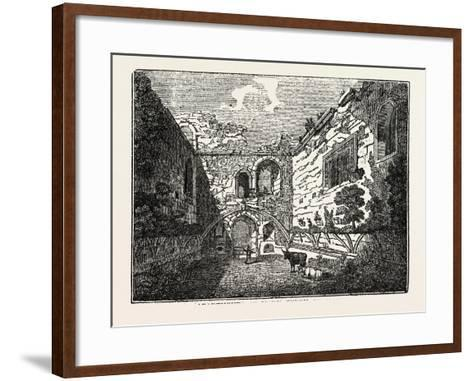 Apartments of Mary Queen of Scots in Tutbury Castle, Tutbury, Staffordshire, England, Uk--Framed Art Print